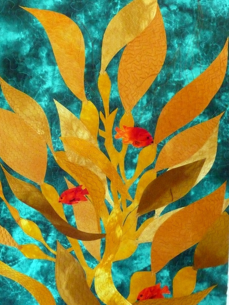 Fast Friday Fabric Challenge: California Kelp Forest ...