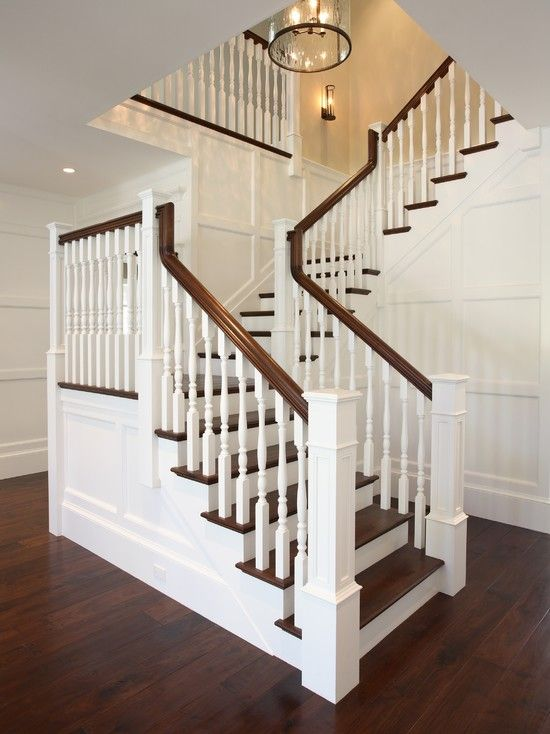 Staircase White Staircase Design, Pictures, Remodel, Decor And Ideas