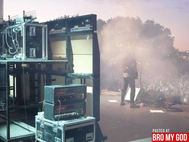 My dreams are now crushed...Apparently big amp stacks at concerts are fake lolConcerts, Music, Black Veils Brides, Mr. Big, Black Veil Brides, Blog, Speakers, Rocks, Marshalls