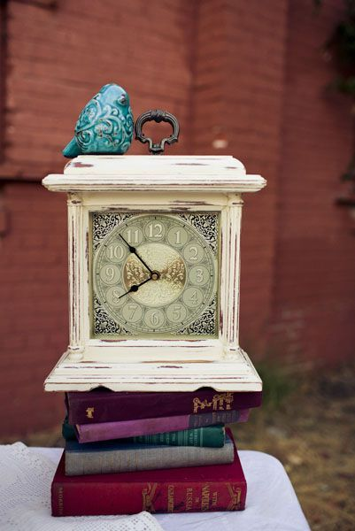 midnight clock centerpiece. Something about the face of this clock