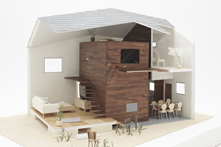 nesting house/入れ籠の家| ondesign