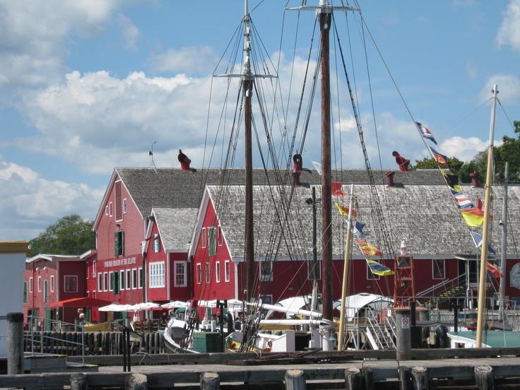 Lunenburg, NS Fisheries Museum of the Atlantic