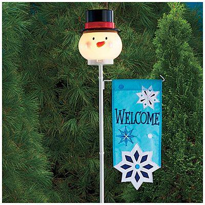 34 best Snowman Lamp Post Cover images on Pinterest ...