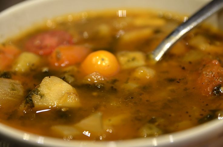 Wegańska bouillabaisse