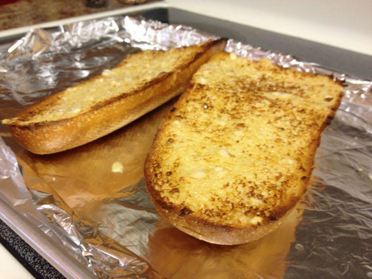 How to Make Garlic Bread - Fabulous Crispy Seared | Recipe