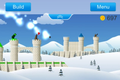 Example: Open Source iOS Castle Destruction Game Using Cocos2D And Box2D