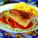 Cajun Roasted Cod  For more information click here: www.DanielPlan.com