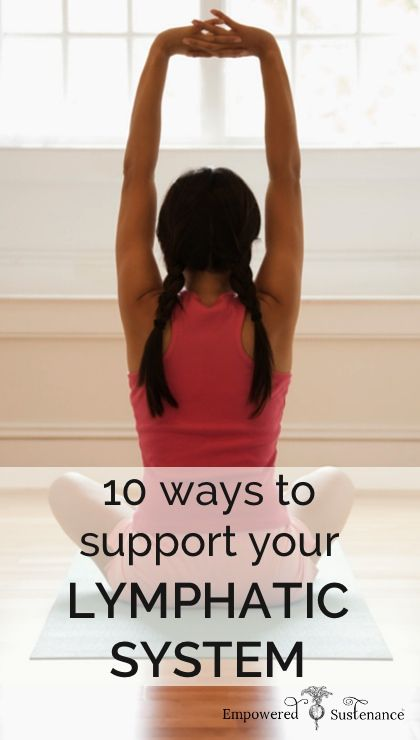 Want to detox? Want a healthy immune system? Support the lymphatic system with 10 steps!
