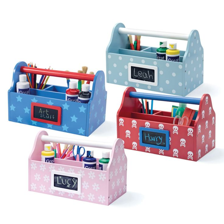 Arts & Crafts Carry Caddy - This large organiser is great for storing arts and crafts paraphernalia.  It's practical, portable, and perfectly gorgeous in either colourway.