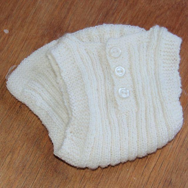 Ravelry: Strikkemaske's 'Livstykke' / Undertrøje til nyfødt baby
