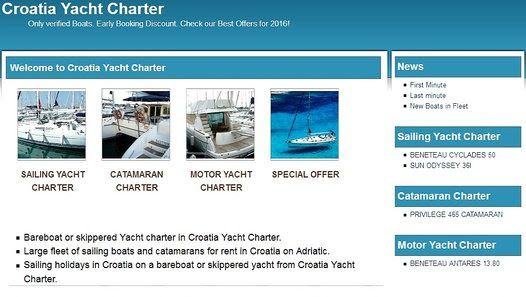 CROATIA YACHT CHARTER - Dailymotion Wideo