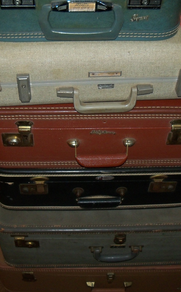 Old Suitcases The 172 Best Images About Wonderful Old Suitcases Repurposed On