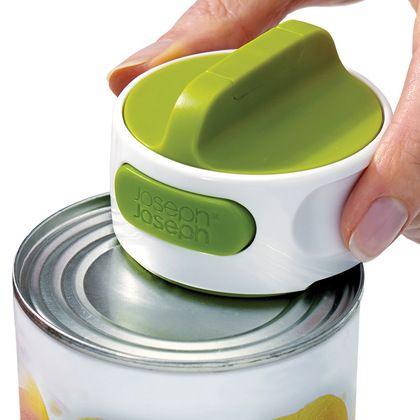 Нож консервный Can-Do белый/зеленый