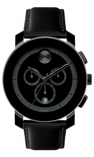 Movado | Movado Bold Large Black Chronograph Watch 44mm $500