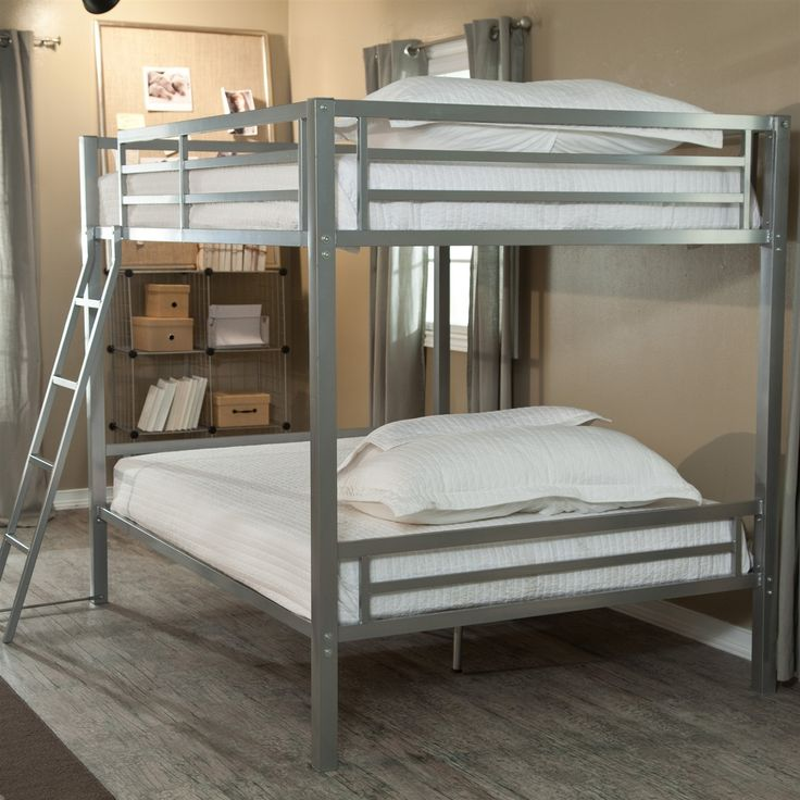if you 39 re short on space but long on people who need somewhere to sleep then this full over. Black Bedroom Furniture Sets. Home Design Ideas