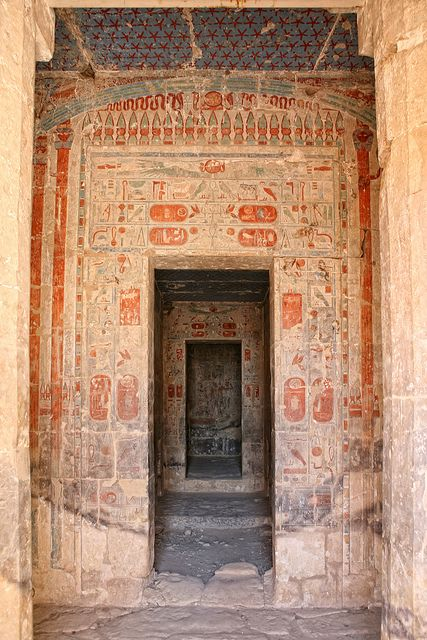 Hatshepsut Temple | I have chronicled my trip through Egypt,… | Flickr