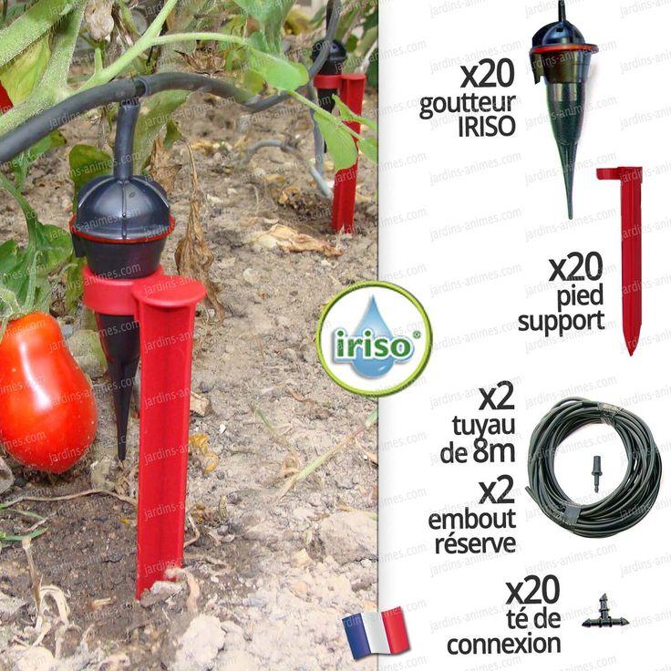 arrosage automatique iriso goutte a goutte jardin potager x20