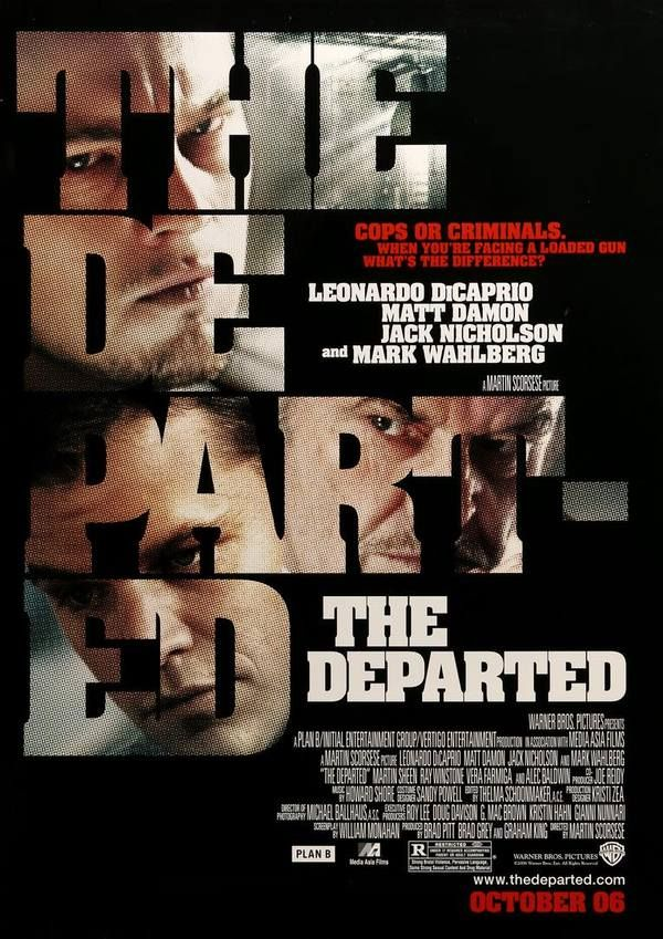 The Departed (2006) Original One-Sheet Movie Poster