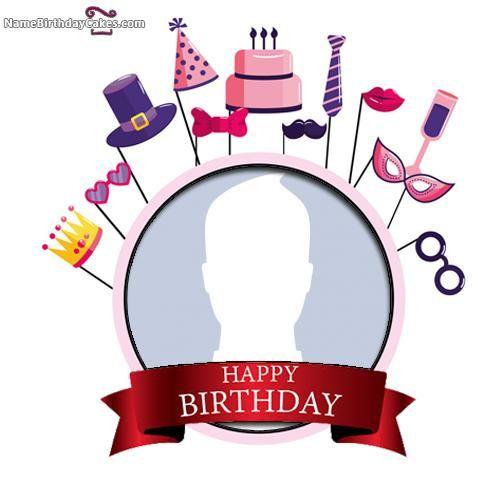 Free Happy Birthday Frames Online Editing