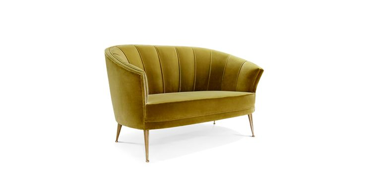 Maya sofa has the sensual and delicate forms of the feminine being and the strength of a tree of life | Discover more  bedroom sofa ideas: http://masterbedroomideas.eu/