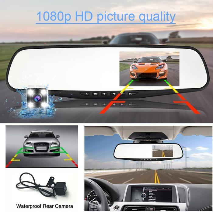 The Original Hd Mirror Cam Rear View Mirror Camera Rear View Mirror Camera Mirror Camera Car Mirror Camera