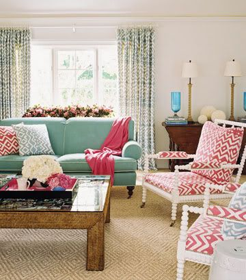 Gorgeous Eclectic Living Room Design With Blue Green Walls Paint Color,  Black Abacus Chairs, Large Carthage Pierced Covered Lantern, Braemore  Turquoise Blue ...
