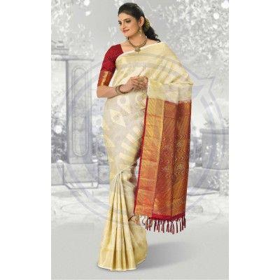 the chennai silks brocade saree