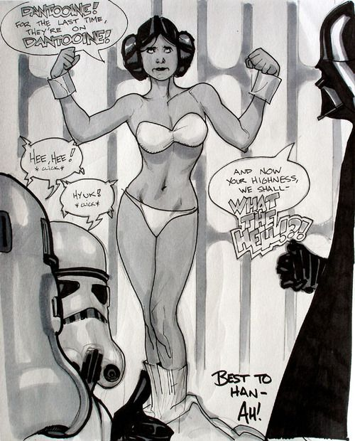 Star wars princess leia interrogation not
