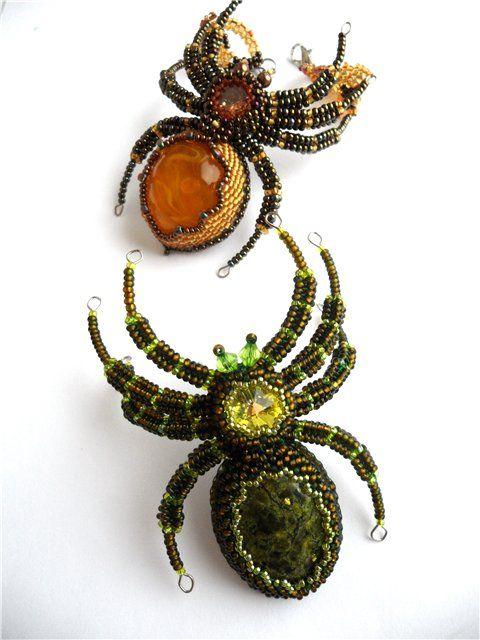 "Bracelet ""Spider Hameliosha"" | biser.info - all about beads and beaded work"