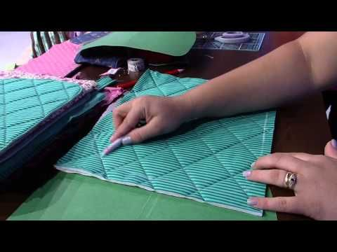 Como fazer cestinha multiuso para casa | Cantinho do Video Costura em Roupas