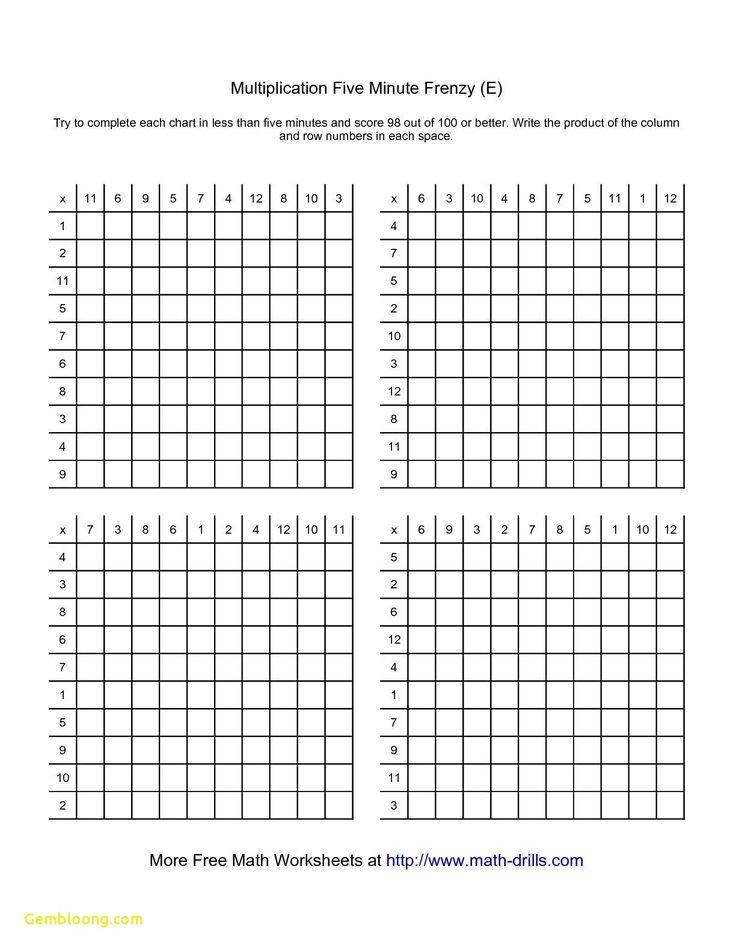 General Addition And Multiplication Worksheets Worksheet Printable Multiplication Worksheets Math Drills Math Worksheets