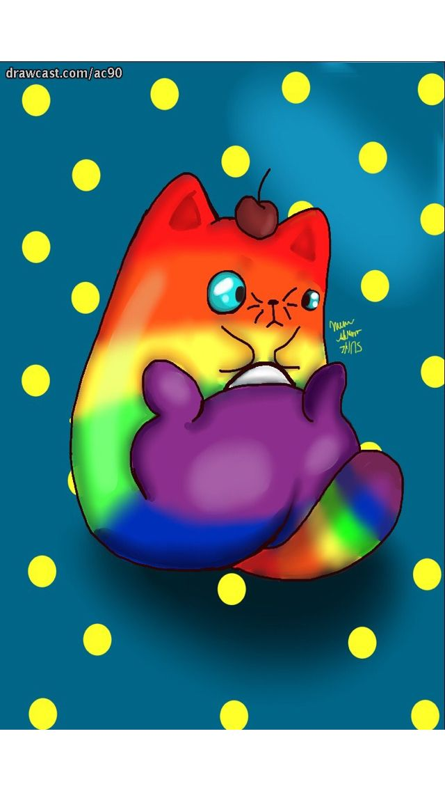 Who doesn't enjoy deeply rainbow cats. (Don't say you don't because deep deep down you know you love this guy.)