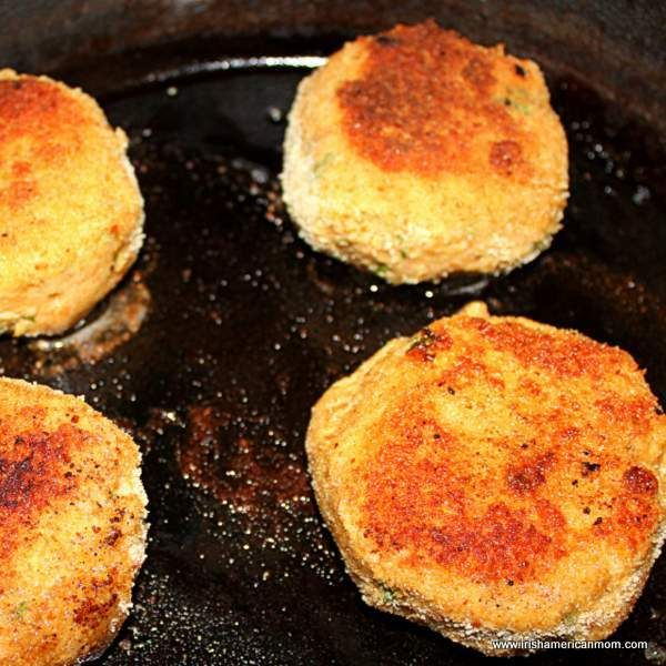 Budget Friendly Salmon Fish Cakes | Irish American Mom