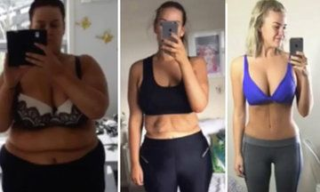 Fascinating Time-Lapse Video Documents Woman's 14 Stone Weight Loss