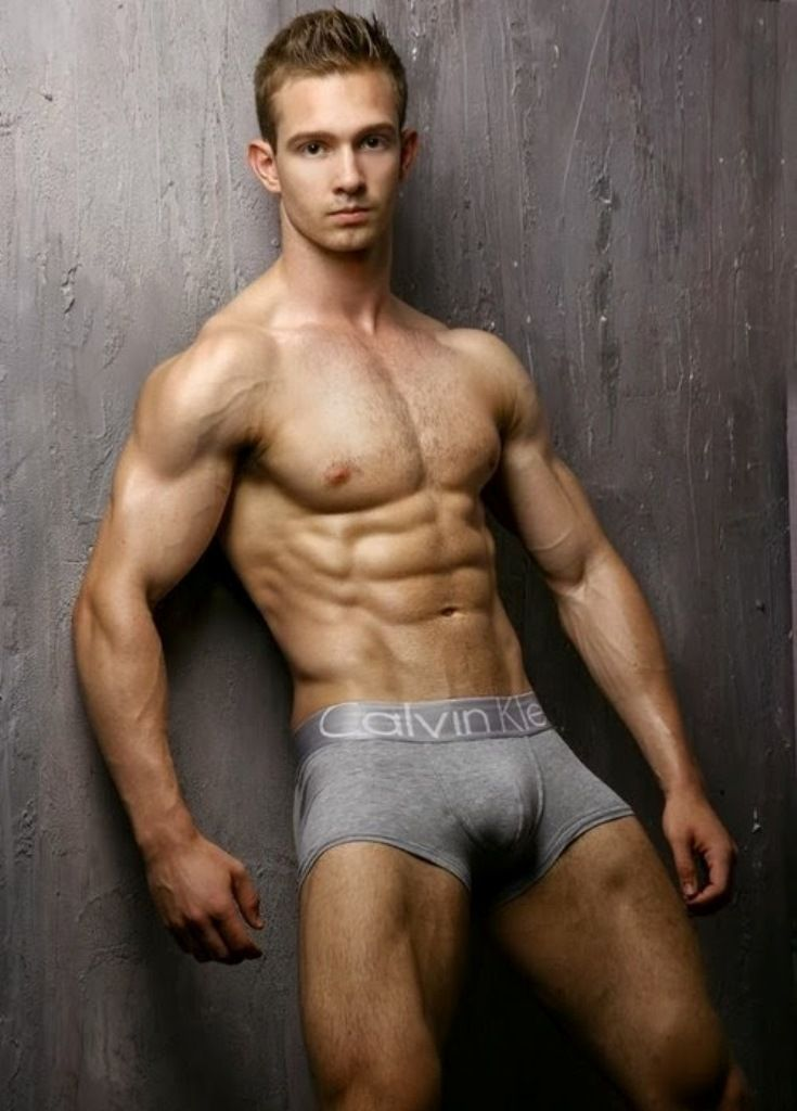 male model big bulge