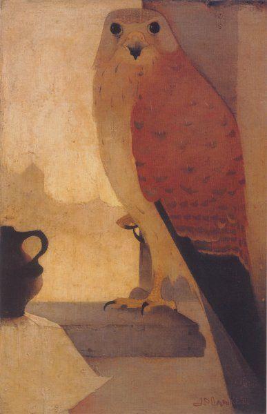 jan mankes   Kestrel (1910) - Jan Mankes   Birds