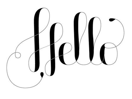 hello #typography