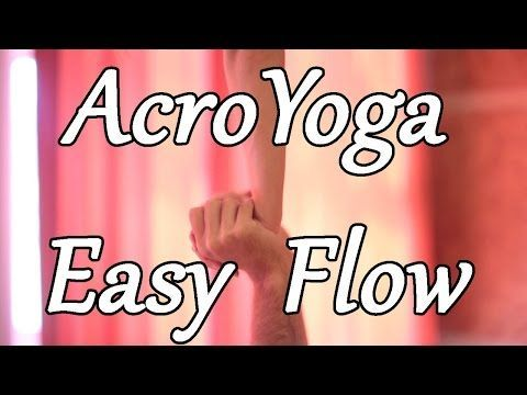 AcroYoga For Beginners #2 - Mini Flow. *** Check out more by visiting the photo