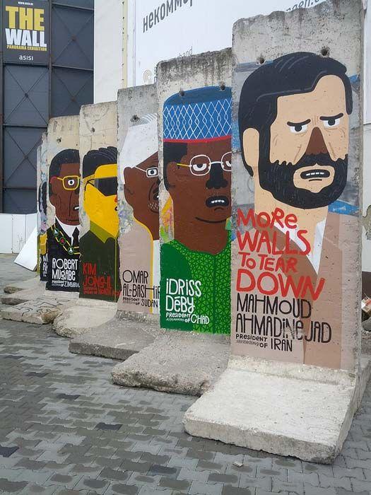 Berlin Wall – Berlin, Germany