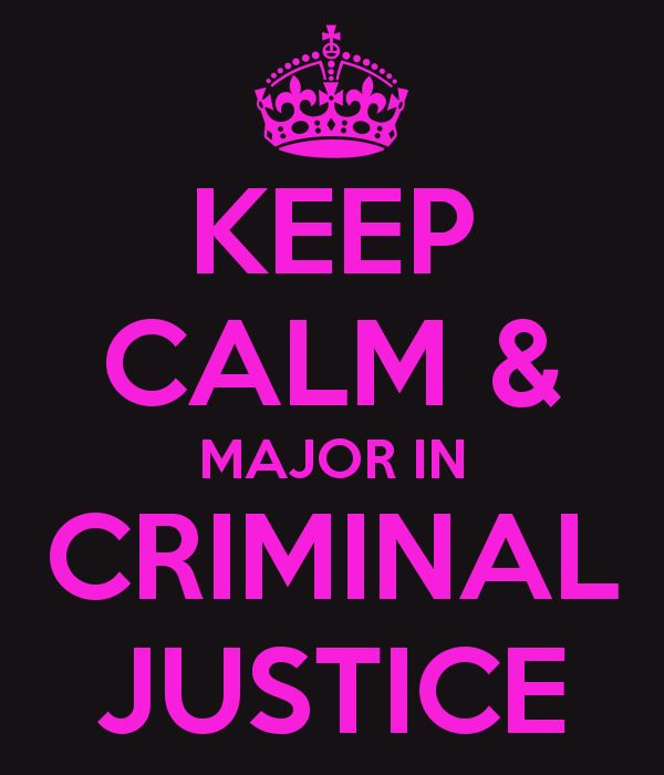 The major that I wish to have would be criminal justice or criminology, I would like to get a Masters degree.