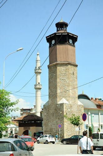 Clock Tower Mosque of Gostivar, Macedonia