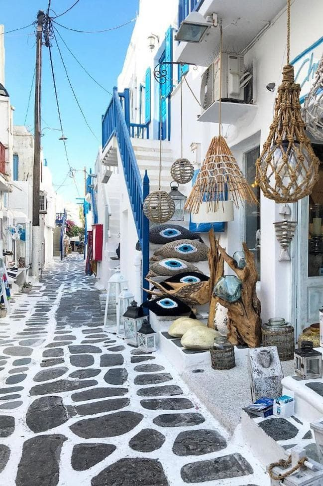 20 Of The Most Beautiful Streets In The World Mykonos Town