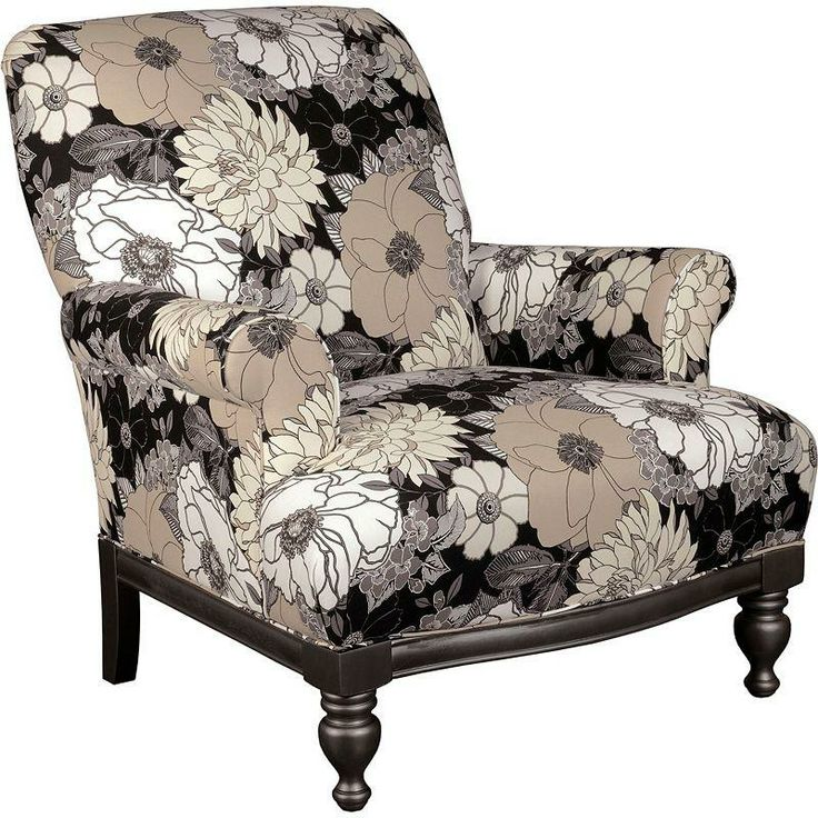 Broyhill Roni English Traditional Floral Accent Chair - Overstock Shopping  - Great Deals on Broyhill Living Room Chairs - 78 Best Images About Chairs For The Living Room On Pinterest