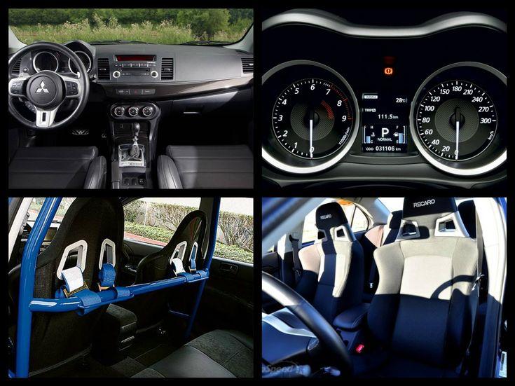 Mitsubishi Lancer 2014 interior