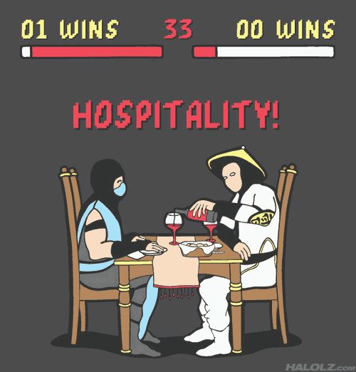 HOSPITALITY!!