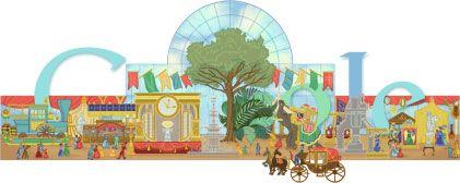 Google Doodle: World's fair