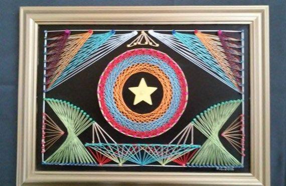 Balance String Art by SmARTcraftBoutique on Etsy