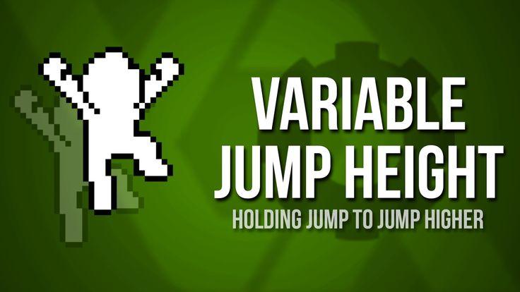 Game Maker Studio: Variable Jump Tutorial [Platformer]