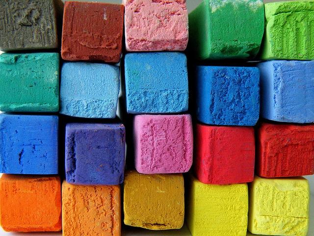 pastels: Colour, Colors Chalk, Pastel Cerveza Tennis, Colorful, Rainbows Colors, Art, Evelyn Flint, Chalk Pastel, Oil Pastel