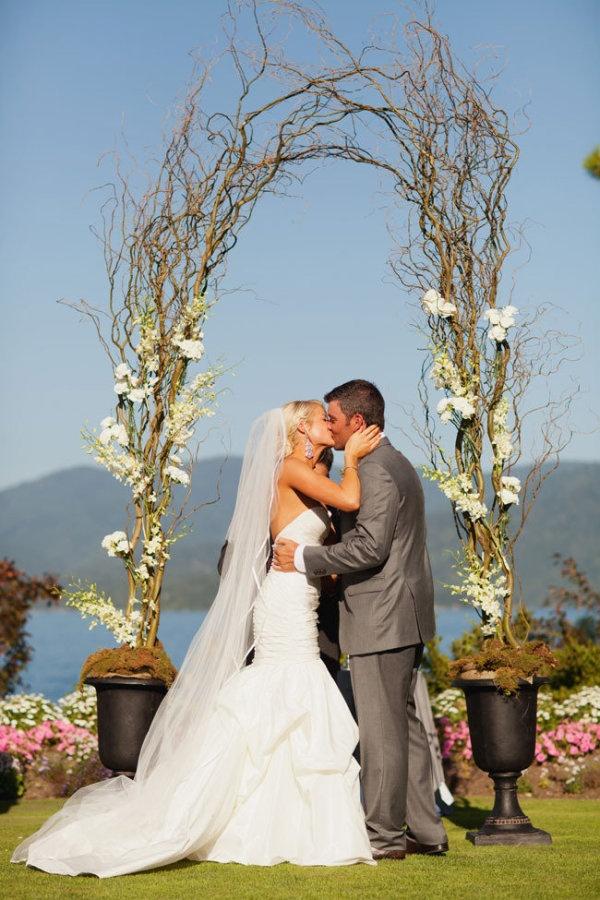 Delightful Hayden Lake, Idaho Wedding From Megan Robinson. Outdoor Wedding  ArchesOutdoor WeddingsWedding ...